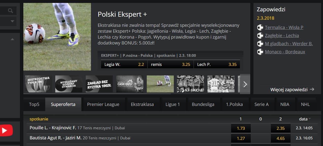 Zostań ekspertem bukmacherskim i odbierz 5000 PLN!