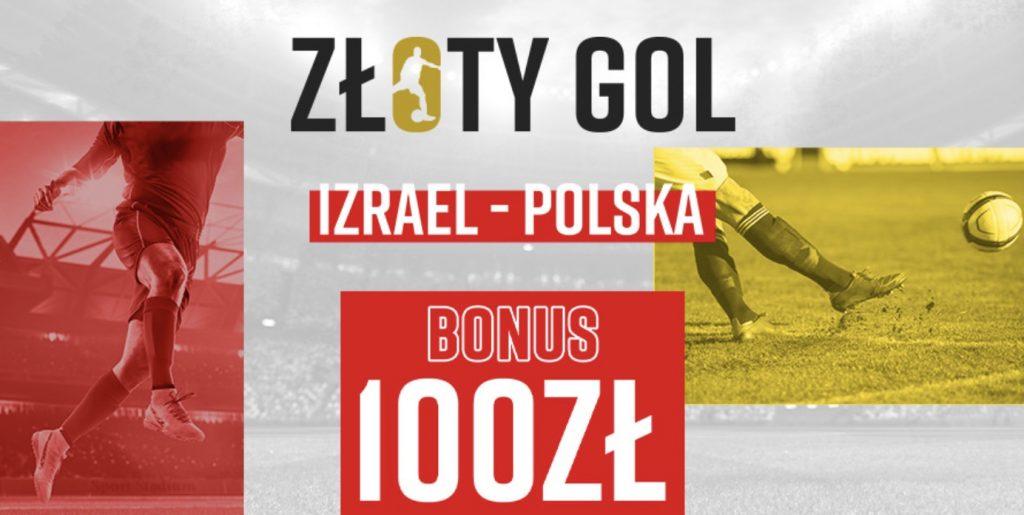 100 PLN za jedną bramkę. Betclic organizuje Złoty Gol na mecz Izrael - Polska!