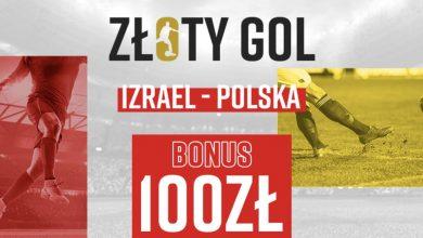 Photo of 100 PLN za jedną bramkę. Betclic organizuje Złoty Gol na mecz Izrael – Polska!